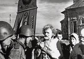Lituanie 1941 - Ivan Tatarintsev  et ses compagnons