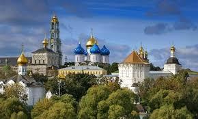 Au monastère Novospassky, Moscou, une exposition consacrée à l'Armée Blanche