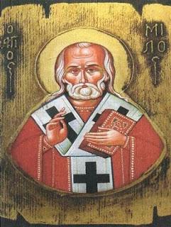 Dieu est admirable dans Ses saints: Saint Milos et l'œuf de Pâques