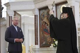 Le prince Charles a assisté à un moleben à la cathédrale orthodoxe de Londres