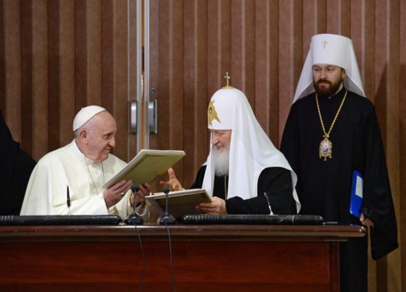 Aujourd'hui, catholiques et orthodoxes doivent témoigner de leur unité