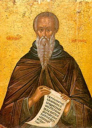 Saint Jean Climaque, hégoumène des moines du Sinaï (+ 605)