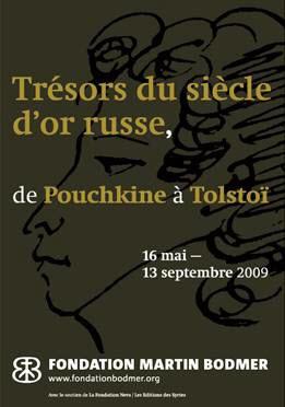 Trésors du siècle d'or russe de Pouchkine à Tolstoï