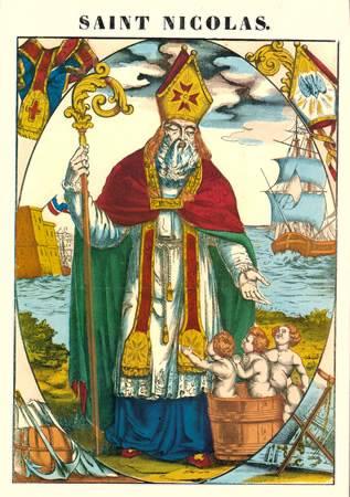 Saint Nicolas de Myre, protecteur de la Russie et de la Lorraine