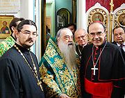 Le doctorat honoris causa de l'institut de théologie de Minsk décerné à l'archevêque de Lyon
