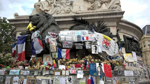 Commémoration à Nice des victimes du 14 juillet 2016