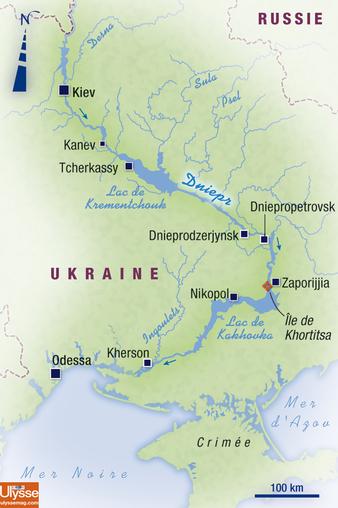 Le Dniepr des Cosaques