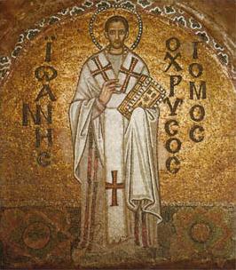 Saint Jean Chrysostome (+ 407)