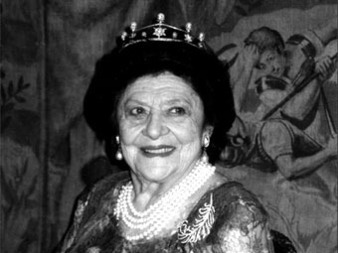 Dcs  Madrid de la  Grande-Duchesse Lonida Romanov  lge 95 ans
