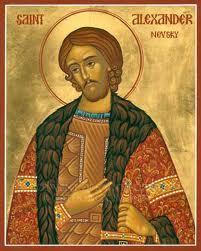 Saint Alexandre Nevski (+ 1262)