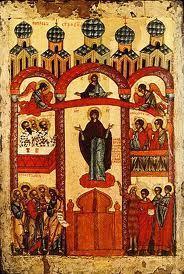 """""""Pokrov"""", fête de Notre Dame de Toute Protection"""