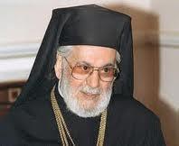 """Mgr Ignace IV Hazim, le patriarche grec-orthodoxe d'Antioche et de tout l'Orient à Damas, a dénoncé jeudi 1er mars une """"campagne médiatique"""" hostile à la Syrie"""