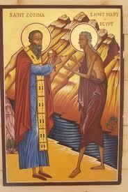 Homélie pour le dimanche de sainte Marie l'Egyptienne