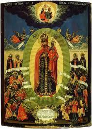 C'est Anna Akhmatova qui m'a guidée vers l'icône de la Notre Dame Joie des Affligés dans l'église de la Transfiguration