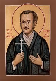 L'archiprêtre Andrew Phillips : Saint Nicolas Johnson - Martyr anglais