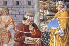 """Saint Augustin (354-430) """" La mort de Monique, sa maman"""""""