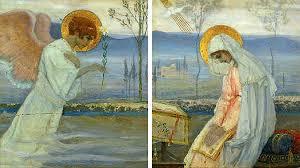 L'Annonciation dans la peinture russe