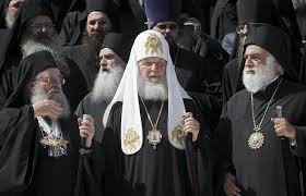 Sa Sainteté le Patriarche Cyrille en pèlerinage au Mont Athos