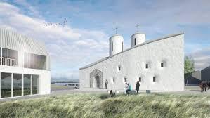 Des architectes russes ont créé un projet novateur de Centre orthodoxe à Reykjavik