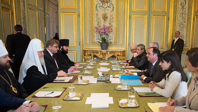 Consécration de la Cathédrale orthodoxe russe à Paris: séjour du patriarche Cyrille en France