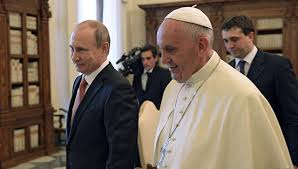 Le président Poutine congratule le pape François qui vient de célébrer son 80 anniversaire