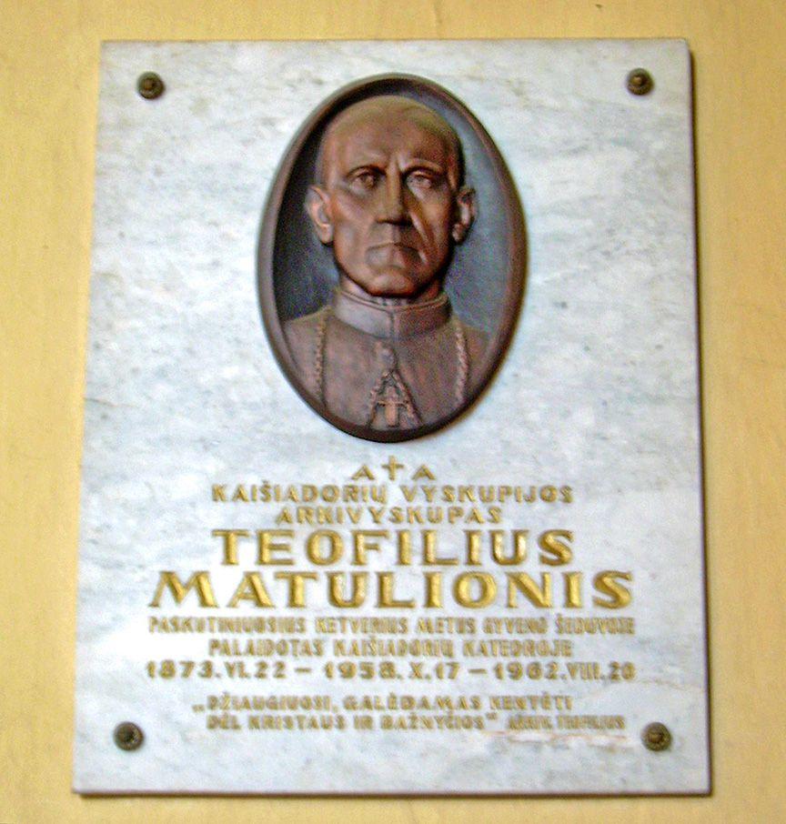 Lituanie: béatification de Mgr Théophile Matulionis, martyr de l'ère soviétique