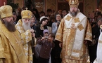 Intronisation du primat de l'Eglise orthodoxe en Amérique