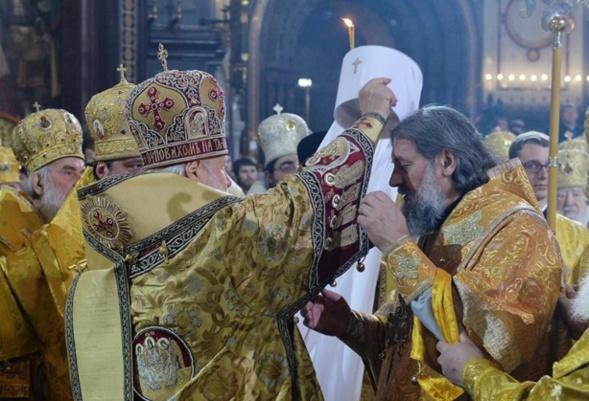 Monseigneur Innocent, fait métropolite de Vilnius et de Lituanie