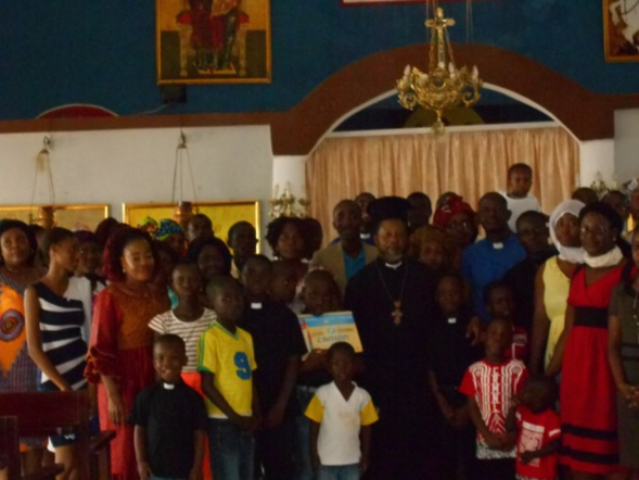 À la rencontre de l'Église orthodoxe grecque de Côte d'Ivoire