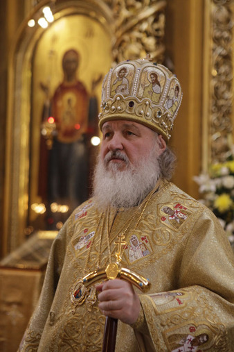 Propos du patriarche Cyrille sur les rapports entre l'Eglise russe et le pouvoir civil