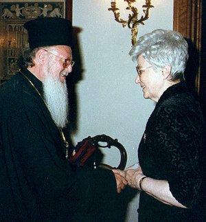 Patriarche Barthélemy: Chiara Lubich a été un don pour les orthodoxes comme pour les catholiques