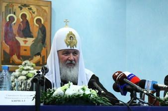 """Patriarche Cyrille: """"La crise n'est pas seulement un mal, c'est aussi une bénédiction"""""""