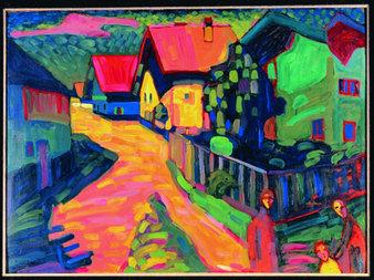 """La Croix: """"De Moscou à Paris, la quête de Kandinsky"""""""