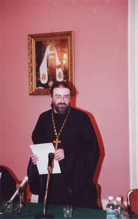 Hégoumène Pierre Mechtcherinov : Débat sur l'état de l'Église