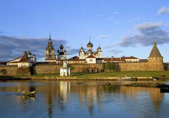Le patriarche de Moscou se rend aux Solovki