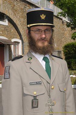 Le père Alexis (Dumond), aumônier orthodoxe de la Légion Etrangère