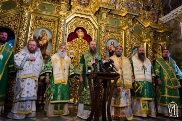 Les hiérarques des Églises orthodoxes autocéphales ont exprimé leur soutien à l'Église orthodoxe canonique d'Ukraine