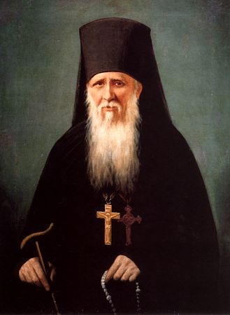 Saint Ambroise d'Optino en Russie (+ 1891)
