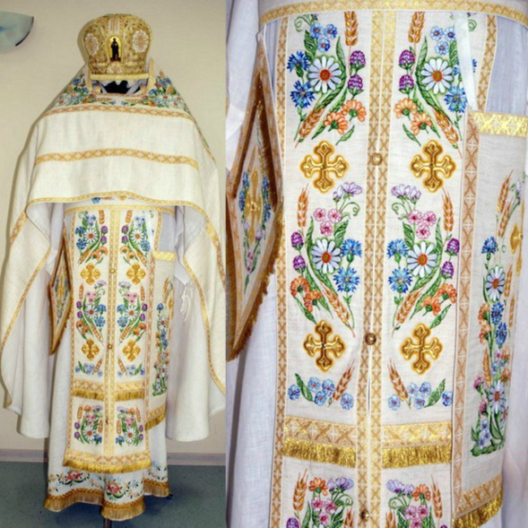 Les chasubles modernes du clergé russe sont des vêtements hautement technologiques