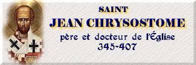 Saint Jean Chrysostome ( 345 - 407)