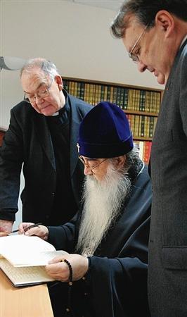 Le métropolite orthodoxe Philarète de Minsk à Lyon