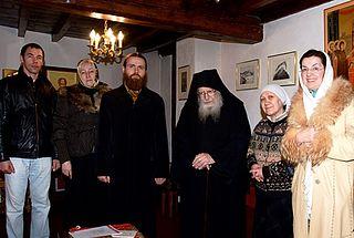Un pélerinage orthodoxe à l'abbaye Saint Antoine le Grand