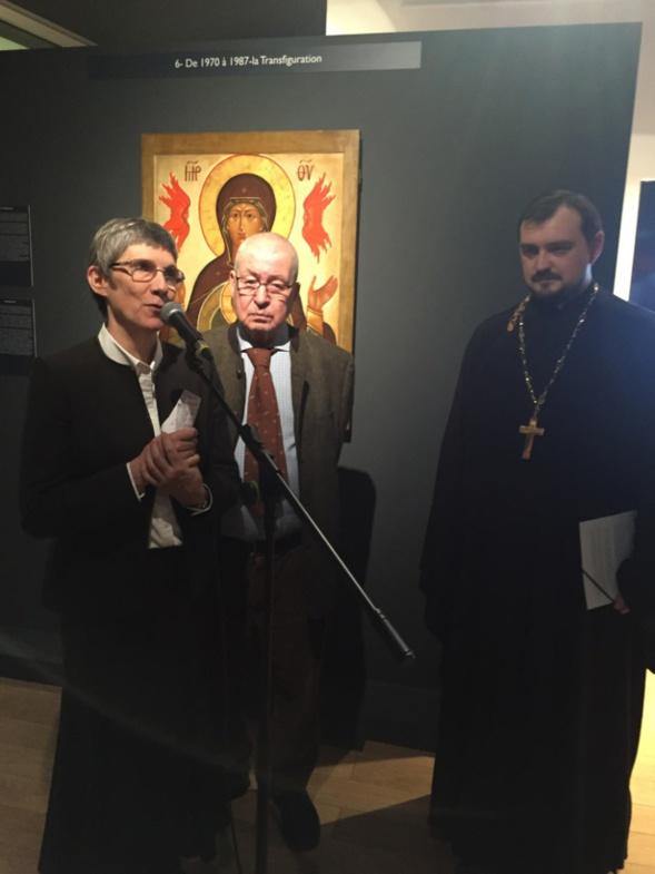 Message de Monseigneur Nestor à l'occasion de l'inauguration de l'exposition Léonide Ouspensky