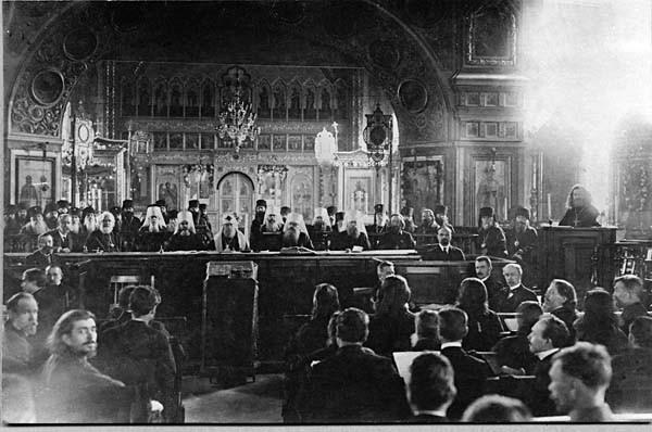 Site de l'OLTR - Editorial de Décembre 2017 - Le Concile de Moscou de 1917-1918