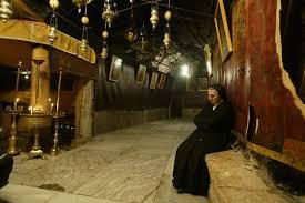 La Basilique de la Nativité : c'est à cet endroit qu'est né le Sauveur.