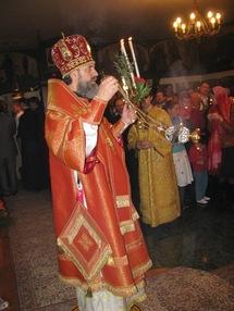 Message de Pâques de l'archevêque Innocent de Chersonèse