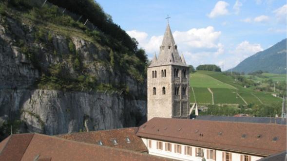 SUISSE: La chapelle de l'hospice Saint-Jacques à Saint-Maurice  accueillera les fidèles orthodoxes du diocèse de Chersonèse