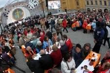Vêpres orthodoxes avec 20000 participants à Munich