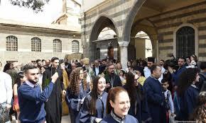 Fête de l'Entrée du Seigneur à Jérusalem au métochion de l'Église orthodoxe russe à Damas
