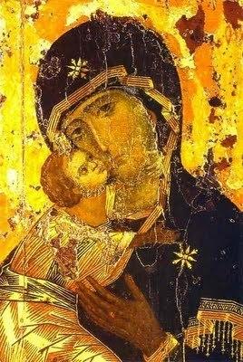 La Vierge de Vladimir et l'enfant Jésus
